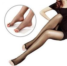 Buy Spring Summer Sexy Women Fish Mouth Nylon Thin Stockings Lingerie Elastic Transparent Black Tights Thigh Pantyhose Hosiery