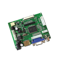 Universal HDMI VGA 2AV 50PIN TTL LVDS Controller Board Module Monitor Kit for Raspberry PI LCD AT070TN92 tn90 94 Panel freeship