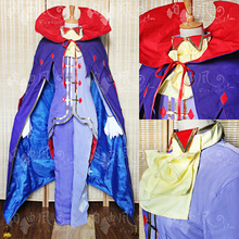 2016 New Arrival Re Life in a Different World from Zero Roawaal L Mathers COSplay Party cloak set erza cosplay costume