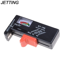 JETTING 1PCS New Battery Tester Volt Checker for 9V 1.5V and AA AAA Cell Batteries(China)