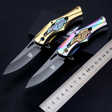 Deformation mechanical Stainless steel blade steel handle Tactical folding knife camping hunting outdoor survival knives EDC(China)