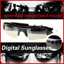 Portable Glasses With Inside mini Camera Recorder Sunglasses HD Wireless Video Camera Stealth Take picture Video Support TF Card