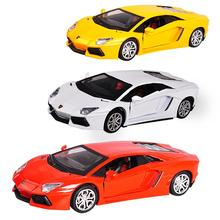 1:32 Alloy Diecast Luxury Sports Car Model Flash/Music/Sound Car Model Toy Vehicle for Kids