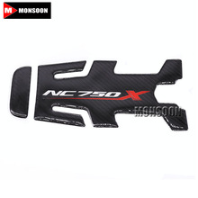 For HONDA NC750X NC 750X NC750 X Motorcycle Accessories Carbon Fiber Tank Pad Fuel Pad Decal Gas Emblem Protector Sticker