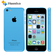 Unlocked Original Apple iphone 5C Cellphone 4.0'Dual Core 8MP Camera IOS WIFI GPS Used mobile phone Multi-language Free Shipping(China)