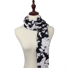 Fashion Chinese Style Cotton Tasteful Scarf Women Floral Shawl and Scarves Wrap Printed Bufanda Cachecol Viscose Scarf