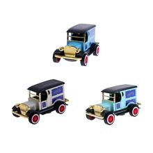 1:36 Ford Modified Diecast Model Car Kids Toys Christmas Kids Alloy Light Music T-shaped Car Simulation Model Toys Gifts(China)