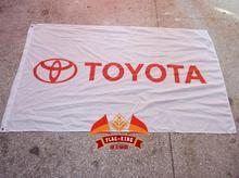 Toyota car brand flag ,ffree shipping,90X150CM size polyester,