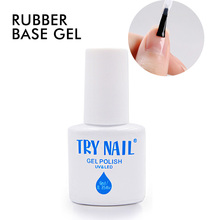 Rubber Thick Base Coat UV LED Primer For Nails China UV Gel Manufacturers 1PCS Free Shipping(China)