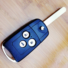 For Honda Accord Flip Key Replacement Folding Remote Key Shell 3 Button Key Case For Honda Acura Accord Spirior Fob Key