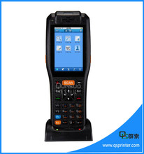 Wireless portable 3g pda with 58mm printer function(China)
