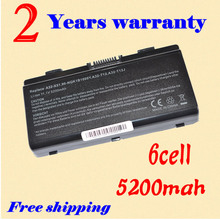 JIGU New 6cell Battery For ASUS X51L X51R X51RL X58 X58C X58L X58Le free shipping(China)