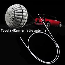 Vehemo Aluminium Alloy Radio Aerial Antenna Radio Antenna Replacement Aerial Mast Telescopic Pole for Toyota 4Runner(China)