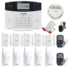 99 Wireless Zone Super Kit Configuration LCD Display Auto Dial And SMS GSM Home Burglar Security Alarm System Fire Alarm System