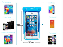 luminous Arm Band Belt Touch Screen Waterproof Mobile Phone Case Pouch For LG Ray/G4 Stylus LS770/G4 Beat/G4s/G Stylo (CDMA)/K10