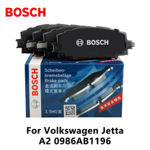 4pieces/set Bosch Car Front Brake Pads For Volkswagen Jetta A2 0986AB1196(China)