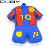 Pen drive 4GB 8GB 16gb 32GB 64GB messi Football shirt usb 2.0 flash drive memory stick pendrive flashdrive gift mini