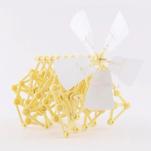 Mini Strandbeest Model Puzzles Adult Science Series The Wind Power Handmade Experiment Assembly Educational Toy For Childrens
