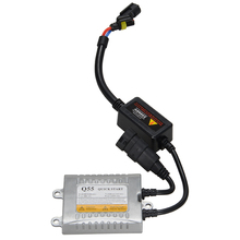 Racbox 55W High Quality Decoding HID Xenon Ballast Blocks Ignition for Bulb H1 H4 H7 H11 9005 9006 Xenon Bulbs HID Kit