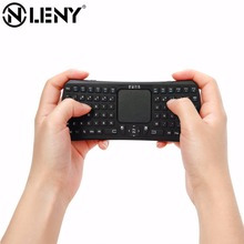Onleny Ergonomic Design Mini Portable Wireless 10m Remote Bluetooth Keyboard with Multi-Touch Pad Mouse for Windows Android iMac(China)