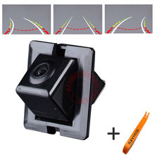 CCD track Camera Directive Parking Assistance back up For TOYOTA NEW PRADO Car Rear View Reverse Sensor Autoradio Wide Angle  HD