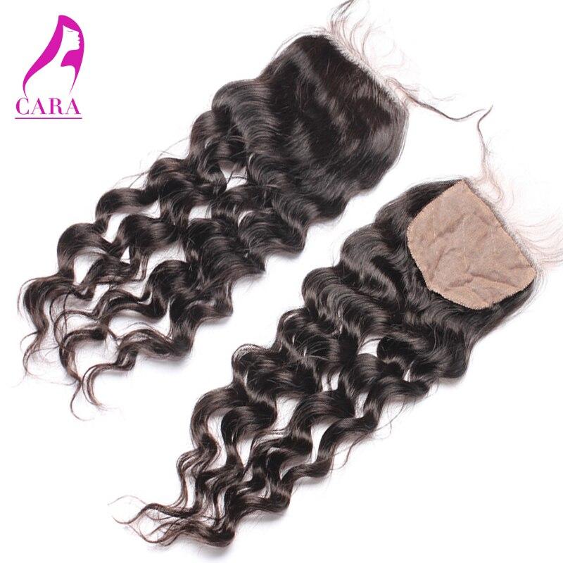 Loose Wave Silk Base Closure 4*4 Bleached Knots Cambodian Virgin Hair Loose Wave 3 Part Silk Top Lace Closure 6A Human Hair<br><br>Aliexpress