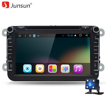 Junsun T38 2 Din Android 6.0 Car DVD 8'' Player 2GB RAM Radio Bluetooth T3 Multimedia for VW POLO GOLF 5 6 PASSAT Car Radio(China)