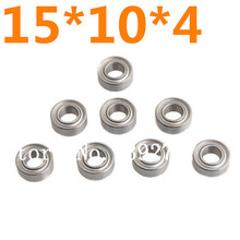 8Pcs 02138 Roller Bearing Ball Bearing 15x10x4mm 1/10 Scale Models For HSP Remote Control Cars Atomic Himoto Nitro RC Cars
