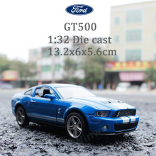 1:32 Die Cast Model Collectors Mustang GT500 Jugetes Para Ninos Car Toys Children