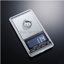 1kg 0.1g LCD Portable Digital Weighing Scales 1000g 0.1 Electronic Jewelry Diamond Scale Food Kitchen Weight Balance Retail Box(China)