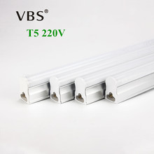 LED Bulbs Tubes T5 Light 220V 240V 30cm 6W 60cm 10W 1ft 2ft LED Fluorescent Tube T5 Wall Lamps Cold Warm White T5 Bulb Light(China)