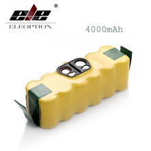 ELEOPTION 3.5AH 4.0Ah 4.5Ah 14.4V Ni-MH Vacuum Battery for iRobot Roomba 500 560 530 510 562 550 570 581 610 650 790 780 532 760(China)