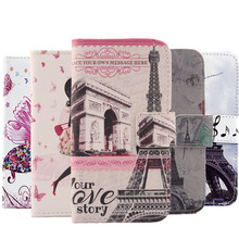 For Medion Life E5004 MD 99628 New Luxury PU Leather Case Cute Cartoon Painted Cover Skin Patterns Flip With Card Slot In Stock