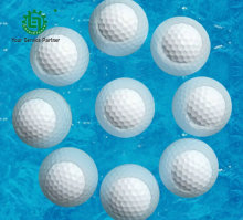 6 Pcs Floating Golf ball 2 layer Outdoor sports White Water Golf pelotas Balle de golf Practice Ball bolas Floater Ball de golf(China)