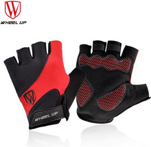 Wheel Up Cycling Gloves Half Finger Mens Women's Summer Bicycle Gloves Guantes Ciclismo MTB Mountain Sports Bike Gloves