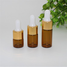 1ml 2ml 3ml 1cc amber glass bottle,Empty glass vials bottle amber oil dropper refillable bottle,essential oil bottles vials