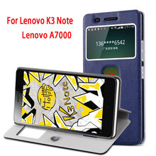 Buy luxury Leather Lenovo K3 Note Case K50-T5 K50-t3s Stand Flip Cover Lenovo A7000 7000 K3note Cases Cellphone housing for $4.66 in AliExpress store