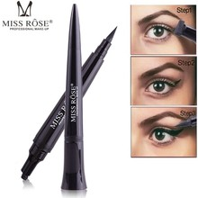 Miss Rose 1Pc Profession Eyeliner Women Makeup Product Waterproof Black Eye Brow Eyebrow Tattoo Pen Liner Long Lasting Cosmetic(China)