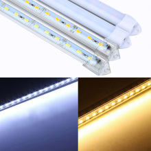 Free Shipping 2pcs*50cm LED Bar Light 5730 5630 DC12V 36LED Hard Rigid LED Strip Bar Light 5730 for Cabinet,Night Market Lights