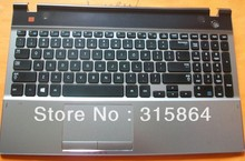 FREE SHIPPING*NEW for SAMSUNG NP550P5C NP550P5C-S02CN  KEYBOARD WITH c shell touchpad speak US/brazil/ Latin America  LAYOUT
