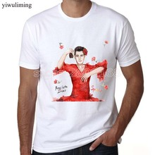 yiwuliming man t shirt summer Cheap Sale Authentic Panic At The Disco Band Photo Galaxy Slim Fit T-shirt S M L Xl 2xl(China)