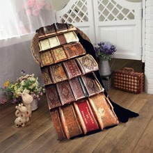 Old Books Luxury Microfiber Beach Towel Soft Swimming Bath Towel Blanket for Kids