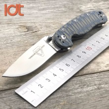 LDT RAT Model 2 Folding Blade Knife AUS-8 Blade G10 Handle Pocket Outdoor Tcatical Knives Hunting Survival Rescue Knife EDC Tool