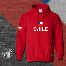 Chile hoodies men sweatshirt polo sweat new hip hop streetwear footballes jerseyes tracksuit nation Chilean flag CL fleece(China)