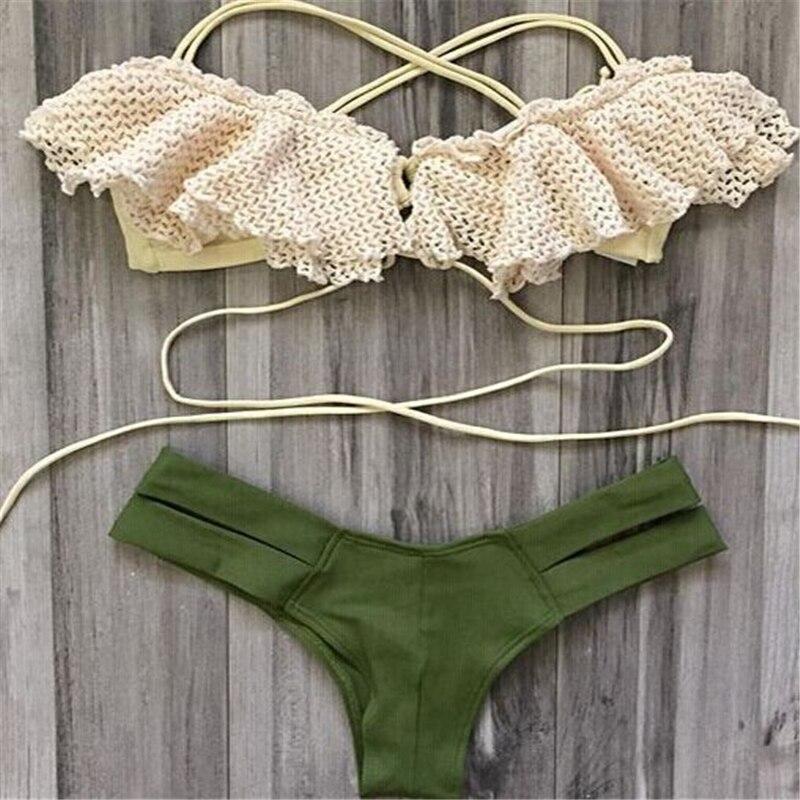 Bikinis Women Swimsuit Sexy Bikini Brazilian Biquini Set New Bandage Beach Bathing Suit Swimwear 2017 Maillot De Bain Swim Wear<br><br>Aliexpress