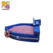 Pirate Ships Pet Beds Dog Kennel Dog Bed Cotton Nest VIP Teddy Pet House For Small Medium Dog And Cat Luxury Beds GP151103-22