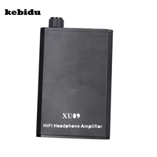 kebidu AK New Mini Audio HIFI Headphone Amplifier Portable Earphone Aux In Port for iPhone Android Music Player High Quality(China)