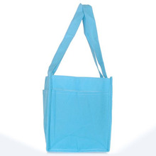Practical Boutique Travel Outdoor Portable Baby Diaper Nappy Storage Insert Organizer Bag Tote,Blue