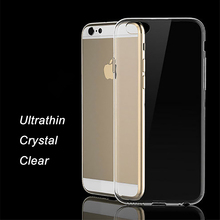 "Ultrathin i6 Cover For iphone 6 Transparent  Soft Silicone Coque iphone6 phone cases Crystal TPU 4.7"" Case For iPhone 6s Fundas"