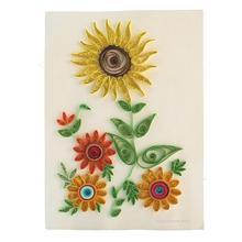 Sunflower Paper Craft Quilling Folded Papermaker Painting Art DIY Handmade Creative Educational Toy Promote Intelligent gifts(China)